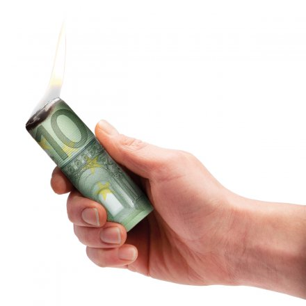Donkey Products Firelighter Burn Your Euros