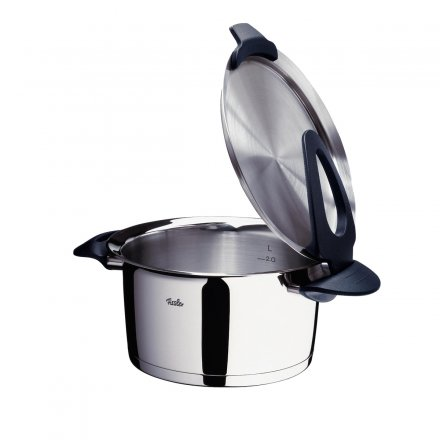buy fissler intensa 5 piece pot set black online online shop. Black Bedroom Furniture Sets. Home Design Ideas