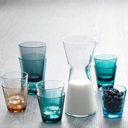 iittala Kartio Glass 6 pcs. light blue