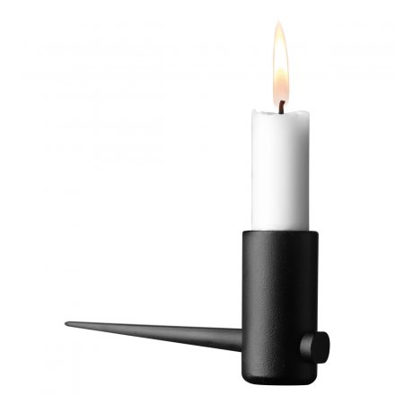 Menu Pipe Candleholder 2pcs. horizontal
