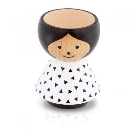 Bordfolk Eggcup Girl Triangle