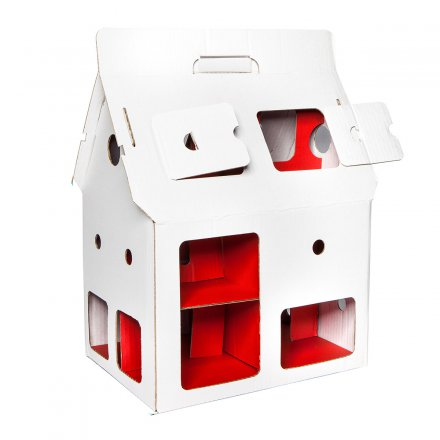 studio ROOF Dollhouse Mobile Home white