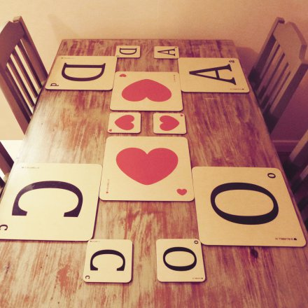 Placemat Heart