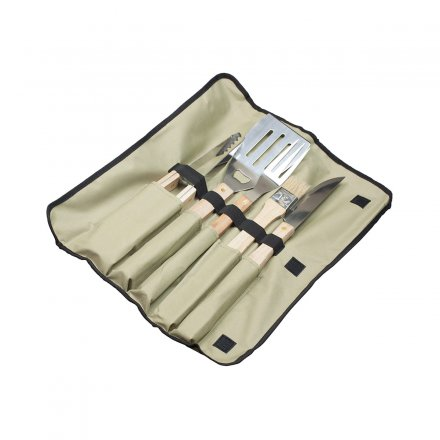 Premium Grill Tools with Engraving