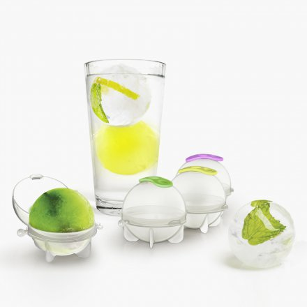 Prepara Ice Cube Forms Ice Balls Set of 4