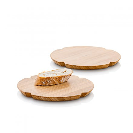 Rosendahl Breakfast Board Grand Cru Bamboo round 2-pc set
