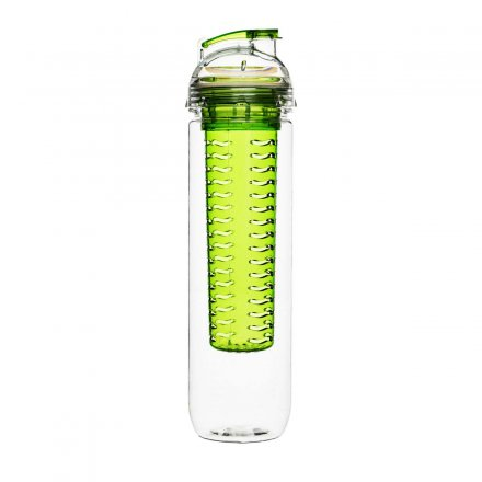 Sagaform Fresh Bottle with Fruit Piston green
