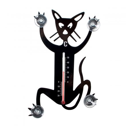 Pluto Thermometer Cat