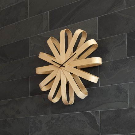 Wall Clock Ribbon