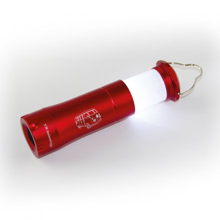 Flashlight VW Bus red
