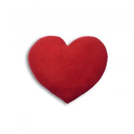 Leschi Heating Pillow Heart red