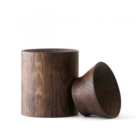 Menu Wooden Bowl High