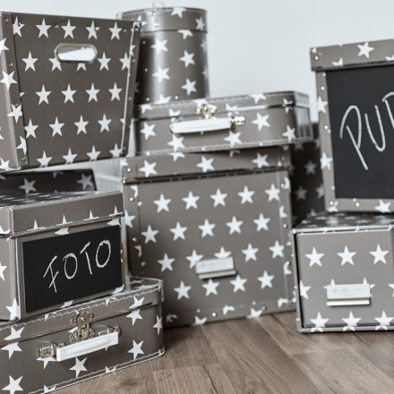Store.It Storage Boxes Stars Set of 5