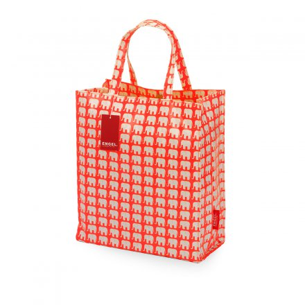 Shopper Elephant neon orange large