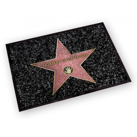 Personalized Doormat Walk of Fame
