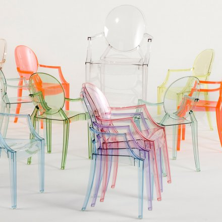 Kartell Chair Lou Lou Ghost