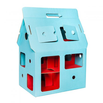 studio ROOF Dollhouse Mobile Home blue