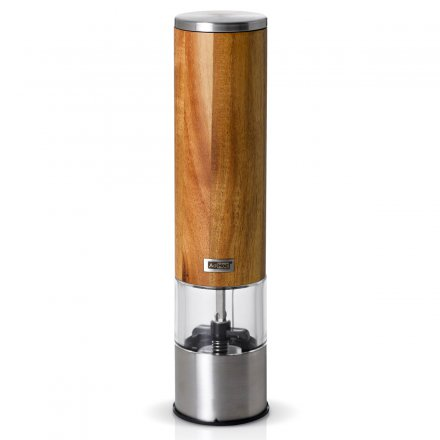 AdHoc Electric Pepper or Salt Mill Woodmatic