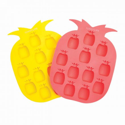 Sunny Life Ice Cube Tray Pineapple Set of 2