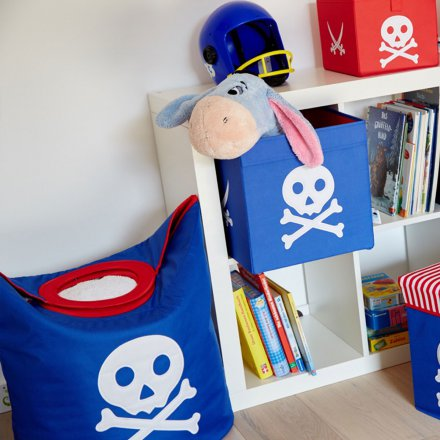 Store.It Storage Box Pirate large blue/red
