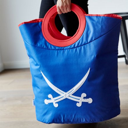Store.It Laundry Bag Pirate blue/red