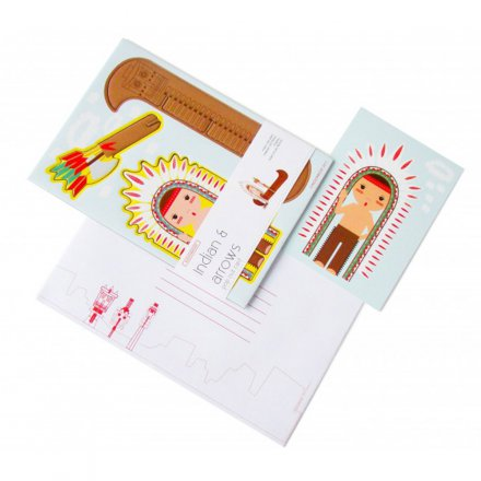 studio ROOF Pop Out Card Indian & arrows