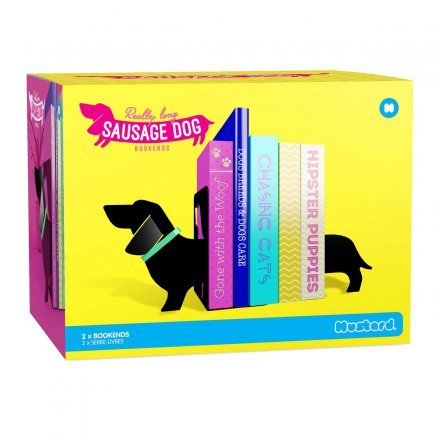 Sausage Dog Bookends