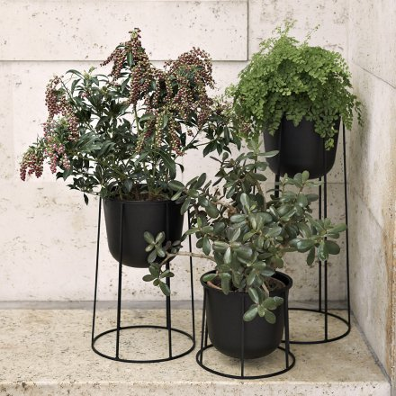 Menu Flower Pot Wire Pot