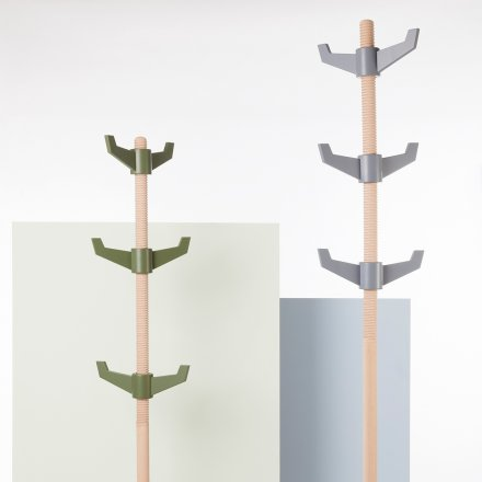 Puik-Art Coat Rack Maple gray
