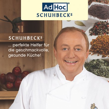 AdHoc Schuhbeck´s Manual Mill & Pepper Handbook