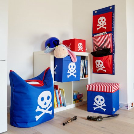 Store.It Storage Box Pirate small red/blue