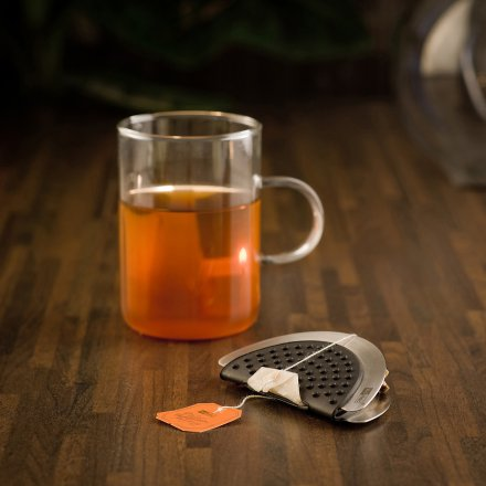 AdHoc Tea Bag Squeezer Squeetea gray