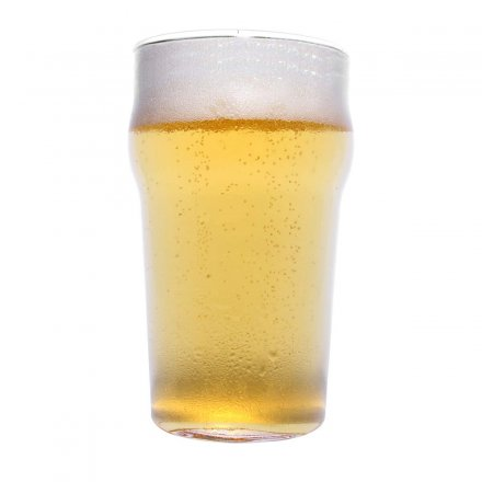 Thumbs Up Beer Glass Half Pint