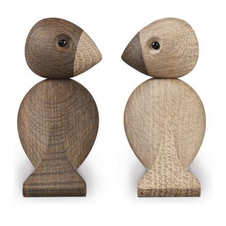 Kaj Bojesen Wooden Pieces inseparable Songbirds Set of 2
