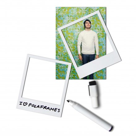 Photo Frames 6 pcs. Magnetic Polaframes