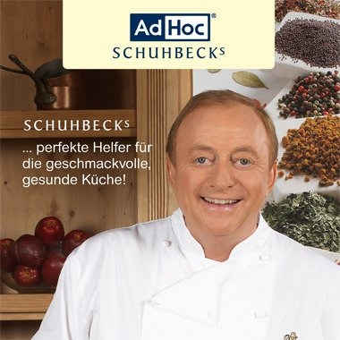 AdHoc Schuhbeck´s Automatic Pepper or Salt Mill