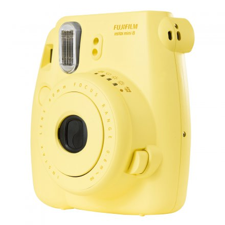 Fujifilm Instant Camera Instax Mini 8 yellow