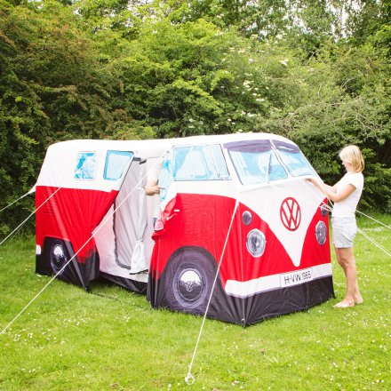 VW C&er Van Tent red & Buy VW Camper Van Tent red online | design3000.de Online Shop