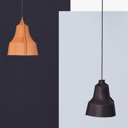 Puik-Art Leather Lamp Lloyd black