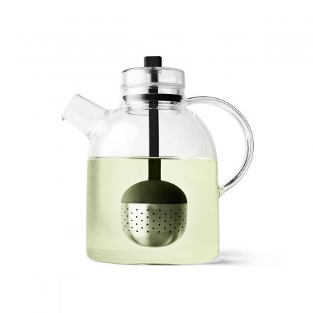 Menu Tea Pot Kettle Glass with Tea Ball 1,5L
