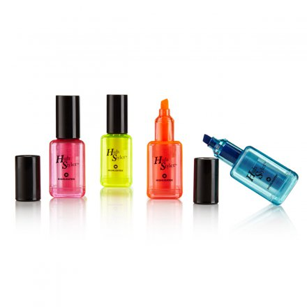 High Styler Highlighters Nail Polish Set of 4