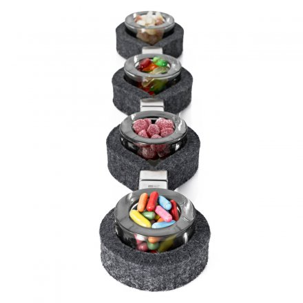 AdHoc Candle Holder Filo 4-piece Set
