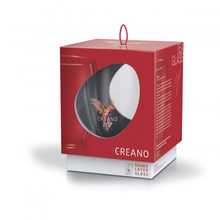 Creano Thermo-Glass Mug Hummi red